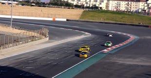 迪拜赛车跑道 图库摄影