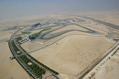 迪拜赛车跑道 免版税库存图片