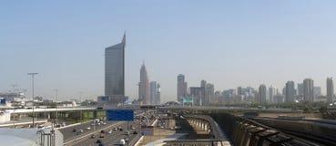 迪拜路回教族长zayed 免版税库存照片