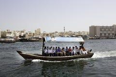 迪拜轮渡 免版税库存图片
