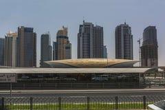 迪拜运输插孔 免版税库存照片