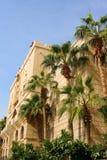 迪拜遗产村庄中央堡垒 免版税库存图片
