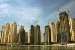 迪拜酋长管辖区海滨广场 库存图片