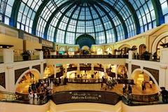 迪拜酋长管辖区购物中心 免版税图库摄影