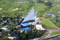 迪拜酋长管辖区高尔夫俱乐部 库存图片