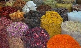 迪拜香料Souk 库存图片