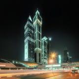 迪拜,阿拉伯联合酋长国的企业海湾 免版税库存图片
