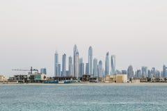 迪拜,阿拉伯联合酋长国的地平线 免版税图库摄影