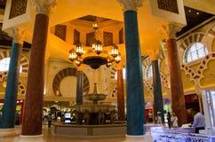 迪拜,阿拉伯联合酋长国, Battuta商城, 2015年11月 免版税库存照片