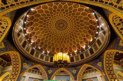迪拜,阿拉伯联合酋长国, Battuta商城, 2015年11月 免版税库存图片