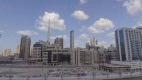迪拜,阿拉伯联合酋长国- 2016年12月:空中城市视图 迪拜吸引25 库存照片