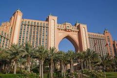 迪拜,阿拉伯联合酋长国- 2016年5月15日:亚特兰提斯旅馆 免版税库存照片