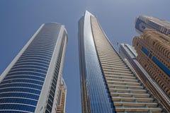 迪拜,阿拉伯联合酋长国- 2016年5月15日:塔在迪拜 库存图片