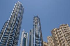 迪拜,阿拉伯联合酋长国- 2016年5月15日:塔在迪拜 库存照片