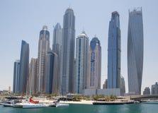 迪拜,阿拉伯联合酋长国- 2016年5月15日:迪拜的塔 库存照片