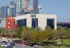 迪拜,阿拉伯联合酋长国- 2016年5月15日:IBM中东大厦 免版税库存照片