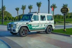 迪拜,阿联酋, 15 11 2015晴天在都市城市, 免版税库存图片