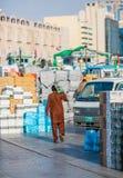 迪拜, UAE-JANUARY 18 :传统Abra运送2 1月18日, 库存照片