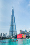 迪拜- 2015年1月10日 免版税图库摄影