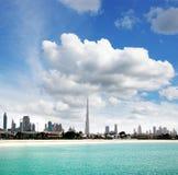 迪拜 海滩迪拜l 库存图片