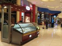迪拜购物中心在迪拜,阿拉伯联合酋长国 免版税库存照片