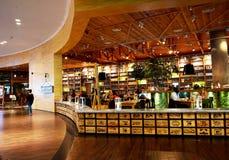 迪拜购物中心在迪拜 库存图片