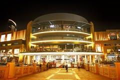 迪拜购物中心是世界的最大的商城 免版税库存图片