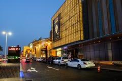 迪拜购物中心,迪拜,阿拉伯联合酋长国 库存图片