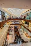 迪拜购物中心,迪拜,阿拉伯联合酋长国 图库摄影