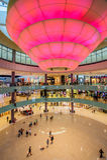 迪拜购物中心,迪拜,阿拉伯联合酋长国 免版税库存图片