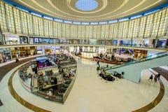 迪拜购物中心,迪拜,阿拉伯联合酋长国 库存照片