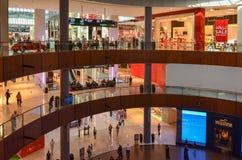 迪拜购物中心,迪拜,阿联酋 库存照片