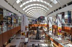 迪拜购物中心,迪拜,阿联酋 免版税库存照片