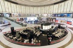 迪拜购物中心 内部 库存图片