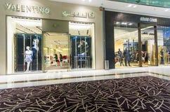 迪拜购物中心 内部 免版税库存图片