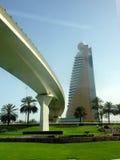 迪拜建筑学,阿拉伯联合酋长国 免版税库存图片
