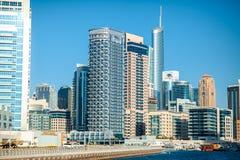 迪拜建筑学 库存图片