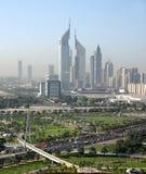 迪拜-酋长管辖区塔 免版税图库摄影
