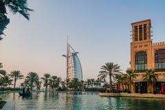 迪拜 Sammer 2016年 Souk Madinat Jumeirah在迪拜 库存照片