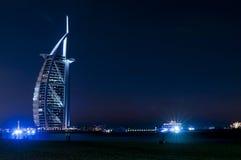 迪拜Burj Al阿拉伯人旅馆 库存图片
