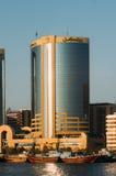 迪拜Creek,迪拜,阿拉伯联合酋长国,中东 免版税库存照片