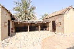 迪拜hatta遗产村庄 免版税图库摄影