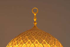 迪拜jumeirah清真寺 免版税库存图片