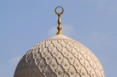 迪拜jumeirah清真寺 免版税图库摄影