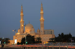 迪拜jumeirah清真寺 库存图片