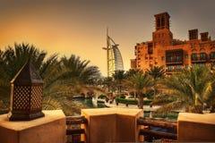 迪拜jumeirah阿拉伯联合酋长国 库存照片
