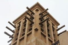 迪拜jumeirah madinat塔风 免版税库存图片