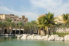 迪拜jumeirah madinat手段 免版税库存照片