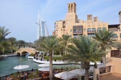 迪拜jumeirah madinat手段 图库摄影