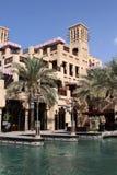 迪拜jumeirah madinat 库存照片